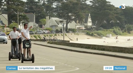 FOCUS sur Mobilboard Carnac lors du 19.20 sur France 3