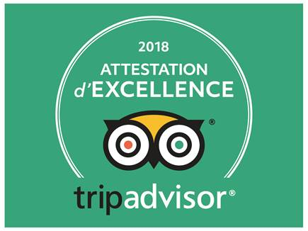 Mobilboard Capbreton obtient l'Attestation d'Excellence 2018 TripAdvisor