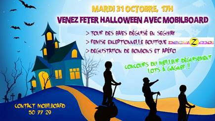 HALLOWEEN SEGWAY TOUR / Offre exceptionnelle