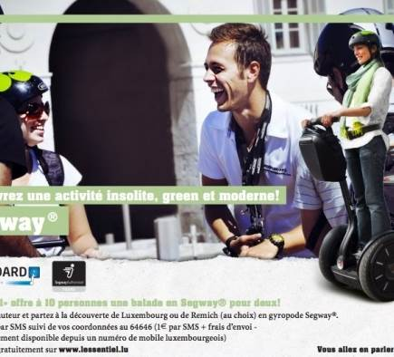 Concours Mobilboard Luxembourg - L'Essentiel - 13 juillet 2012