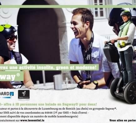 Concours Mobilboard Luxembourg - L'Essentiel - 13 juillet 2012