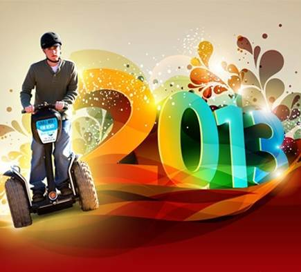 Mobilboard Nice Promenade wishes you a Happy New Year 2013!