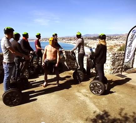 Harlem Shake on Segway by Mobilboard Nice!