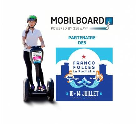 Mobilboard La Rochelle partenaire des Francofolies