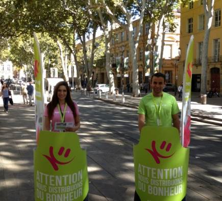 Street Marketing Keep Cool Aix en Provence