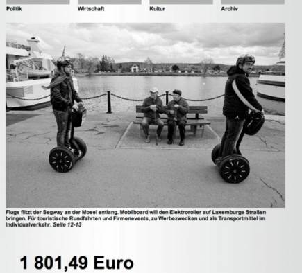 Mobilboard Luxembourg dans la presse - Lëtzebuerger Land