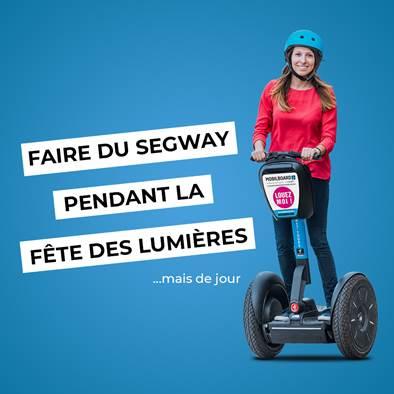 Segway à Lyon : faire une balade pendant la Fête des Lumières