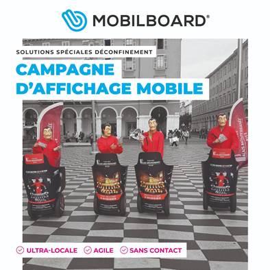 Organiser votre campagne d'affichage mobile locale !