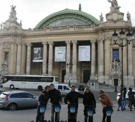 Les balades à gyropode Segway reprennent avec Mobilboard Paris-Invalides