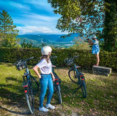 Les Gorges de l'Ain à vélo électrique
