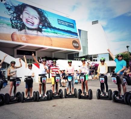 Ouverture de l'agence Segway Mobilboard à Cannes