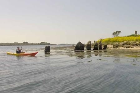 Sortie Kayak Ilots et Mégalithes