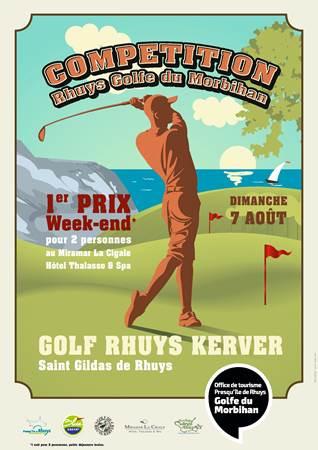 Compétition de Golf « Rhuys Golfe Du Morbihan »