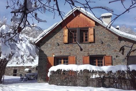Maison en hiver