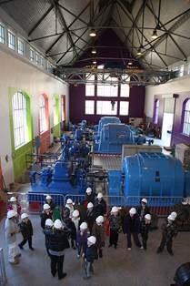 Visite guidée de la centrale hydroélectrique du lac d'Oô