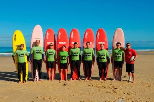 UCPA Surf sans frontière