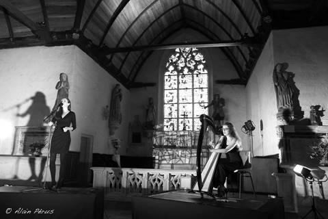 Concert du duo Elodie Jaffré - Awena Lucas