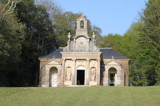 Chapelle-Domaine-de-Kerlevenan-sarzeau-morbihan-bretagne sud
