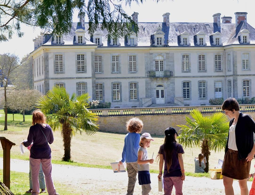 Chateau-de-Kerguéhennec-Morbihan-Bretagne-Sud