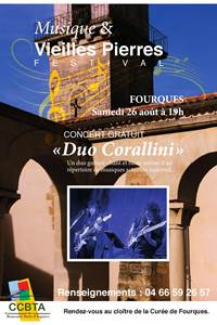 Duo Corallini - Festival Musique et Vieilles Pierres en Terre d'Argence