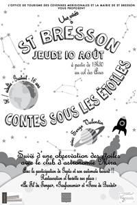 Une soirée à St Bresson : Contes sous les étoiles