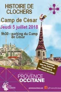 Histoire de Clochers au Camp de César à Laudun