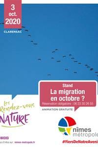 """RDV Nature """"La Migration en octobre"""""""