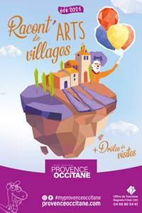 Drôles de visites à Aiguèze
