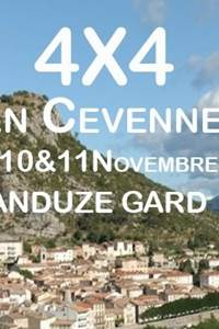 4x4 en Cévennes
