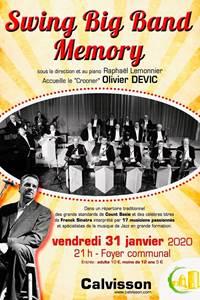 Concert Swing Big band Memory et Olivier Devic