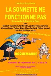 """Théâtre """"La Sonnette ne fonctionne pas"""""""
