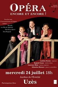 Tutti Quanti présente : « Opéra encore et encore ! »