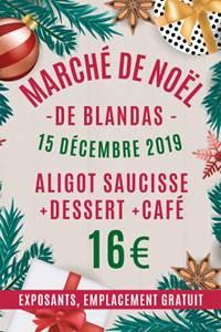 Marché de Noël à Blandas