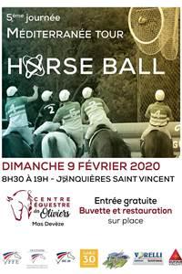 """Horse Ball """"5ème Journée Méditerranée Tour"""""""