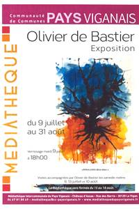 """Olivier de Bastier """"Arbres entre deux eaux"""""""