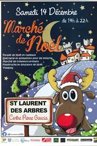 Marché de Noël de St Laurent des Arbres