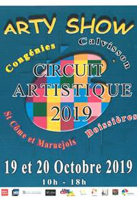 Arty Show Circuit artistique 2019