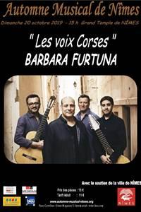 Automne musical de Nîmes - Les voix corses