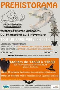 """Vacances d'automne """"Halloween"""""""