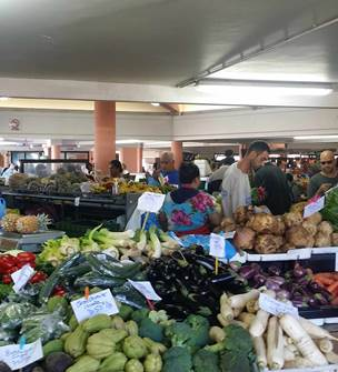 Noumea city market