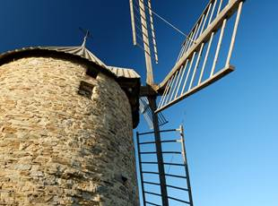 THE MILL OF COLLIOURE