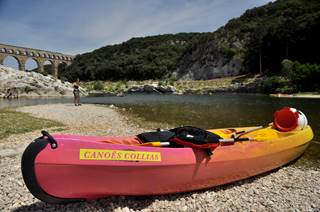 Canoë kayak Collias