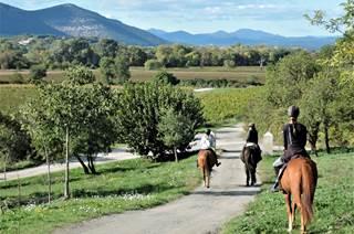 Découverte à cheval du Piémont Cévenol