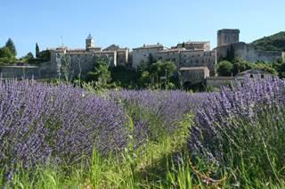Montclus, village médiéval