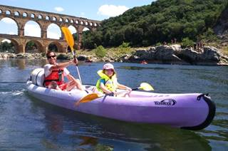 Aventure et Vitalité autour du Pont du Gard