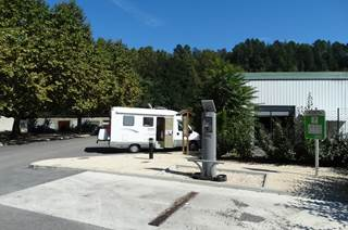 Aire Intercommunale de services pour camping-cars
