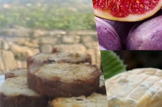 Tartelette fine au chutney de figues de Vézénobres et pélardon des Cévennes