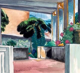 """Exhibition """"Collioure 1930 - 1940"""" by Henri VERGE-SARRAT and Rolande DECHORAIN"""