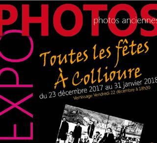 """Expo Photos """"Toutes les fêtes à Collioure"""""""