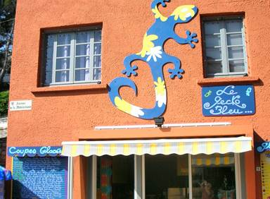 Le Gecko Bleu